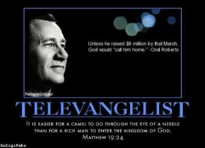 TAGS: he raised nine million oral roberts matthew