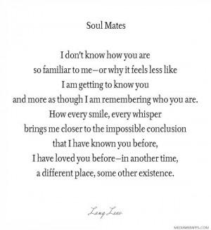 Soul Mates | Love quotes