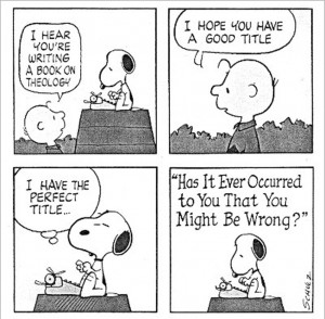 My personal favourite - Snoopy the writer.
