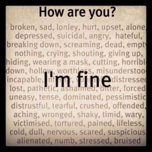 up, text, cutting, shaky, depressed, NUMB, horrible, misunderstood ...