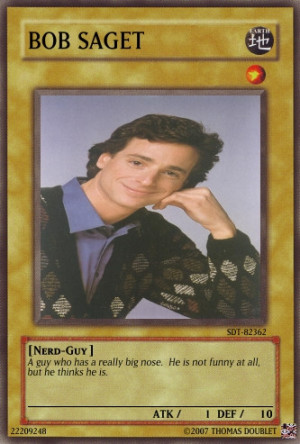 Bob Saget Card by urkel8534