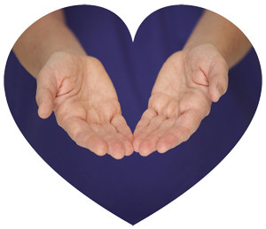 Healing hands, heart-connected massages