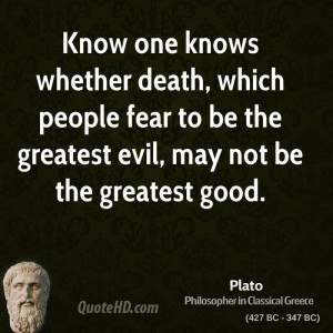 Greek Quotes About Death ~ Plato Quotes | QuoteHD