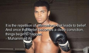 Famous muhammad ali quotes sayings belief inspiring
