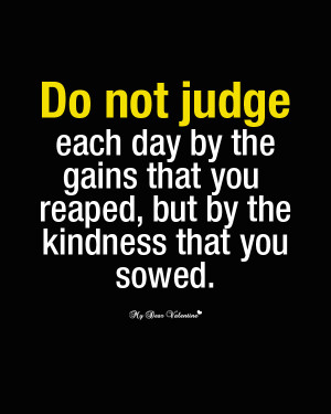Inspirational Picture Quotes - Do not judge