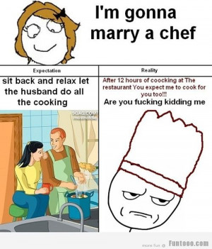 Funny Chef Quotes
