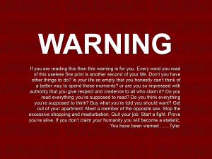Warning v2.0 by freoment
