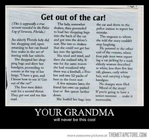 Funny photos funny grandma story police