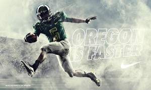 Oregon & Nike Football Unveil This Week's New Pro Combat Game Uniform