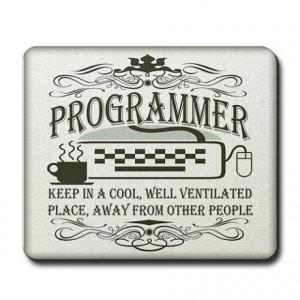 Computer Programmer Mousepads | Buy Computer Programmer Mouse Pads ...