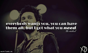 The Weeknd Quotes Tumblr Picture