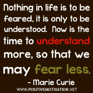 Motivational quote – Fearless