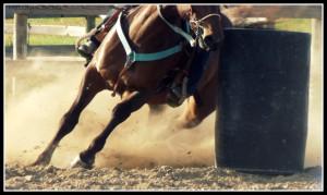 Barrel Racing by eclipes12