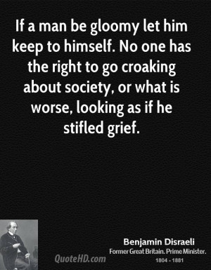 Benjamin Disraeli Society Quotes