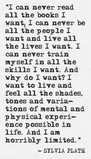 Sylvia Plath. Writers