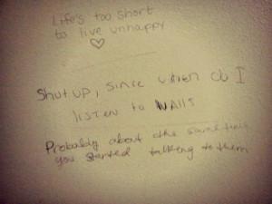 Wisdom from Bathroom Stalls 8