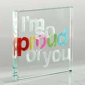 proudmain SP1341 Mini Token So Proud of you