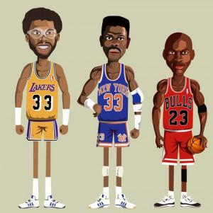 Michael, Ewing, KareemJordans Nba, Air Jordans, Basketballstar Al, Nba ...