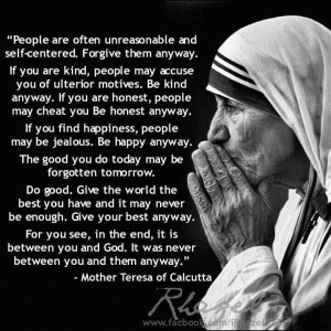 ... Quotes, Living, Inspiration Quotes, Mothers Teresa Quotes, Wise Words