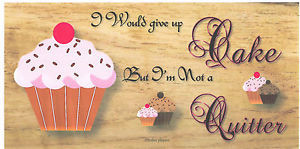 Wooden-plaques-handmade-signs-gifts-life-quotes-funny-sayings-Cake-not ...