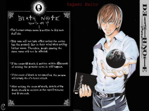 Light Yagami Gallery