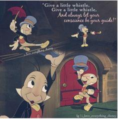 Jiminy Cricket - Disney Pinocchio