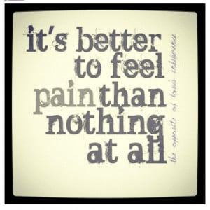 ... than nothing at all