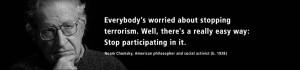 ... quotes noam chomsky philosophy quotes war war on terror language