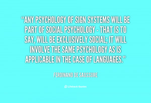 Social Psychology Quotes