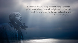 Antoine de Saint Exupery Quotes