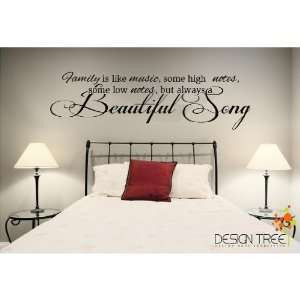 always a beautiful song Vinyl Lettering Wall Sayings Home & Kitchen