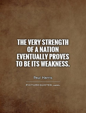 Nation Quotes Paul Harris Quotes