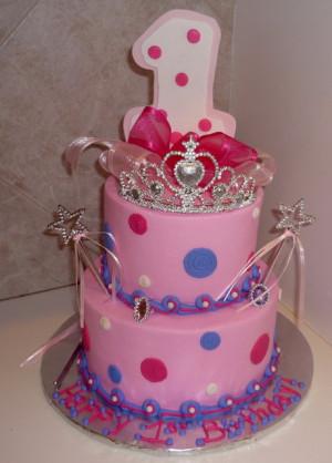 Purple Princess Birthday Cakes