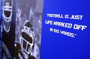 ... football coach bill curry s favorite quotes football is just life