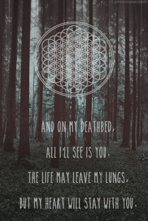 bring me the horizon - deathbed