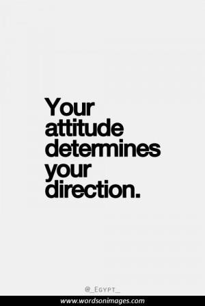 Positive attitude...