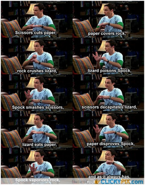 Post your best dr. Sheldon Cooper quotes here!