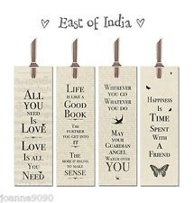 ... INDIA BOOKMARK BOOK MARK BOOKMARKS SAYINGS SLOGAN GIFT NEWSPRINT QUOTE
