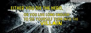 Batman quote Profile Facebook Covers