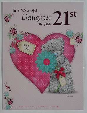 Daughters 21st Birthday Letter