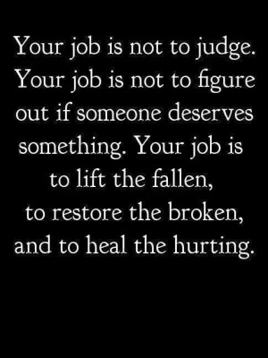 Lift, Restore, and Heal