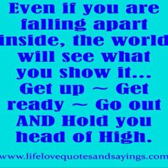 Hold your head high :-)
