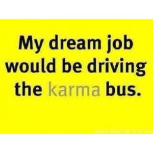 karma bus driver