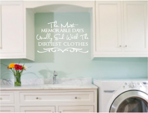 ... laundry room 2 vinyl wall art decals quotes sayings ebay pictures