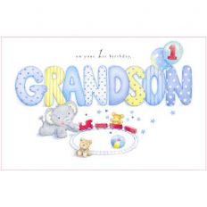 Happy 1st Birthday Grandson