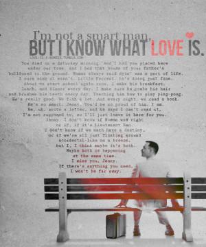 Best Movie Quotes | Forrest Gump (1994) (via love-
