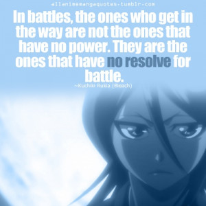 Bleach Quote - Rukia Kuchiki