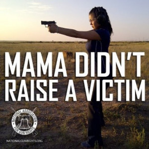 ... women with the promise that gun ownership counteracts victimhood