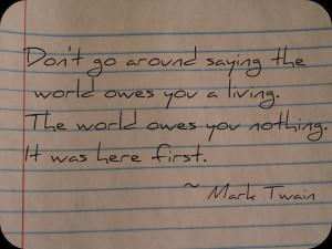 Life Quotes: Mark Twain