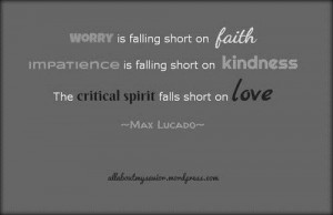 Max lucado spiritual faith quotes and sayings about love